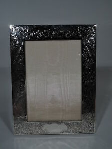 Gorham Frame Hbj Picture Photo Antique Edwardian American Sterling Silver