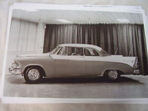 1956 Dodge Custom Royal 2dr Hardtop 11 X 17 Photo Picture
