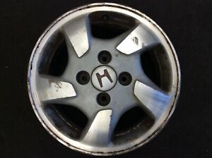 98 00 Accord 4dr 4cyl Aluminum Alloy Wheel Rim Disk 15x6 5 Spoke 4x115mm Oem