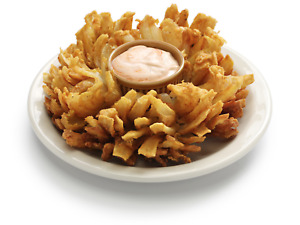30 X 30 Homemade Blooming Onion Photo Decal For Concession Stands