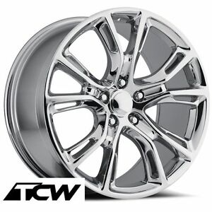 20 Inch 20x9 Jeep Grand Cherokee Spider Monkey Srt8 Factory Chrome Wheels 5x5