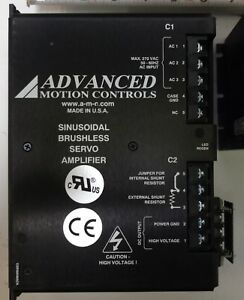 Advanced Motion Controls Sinusoidal Brushless Servo Amplifiers Mod Sr30a40acc
