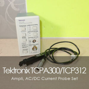 Tektronix Tcpa 300 Tcp312 Ac Dc Current Probe Amplifier