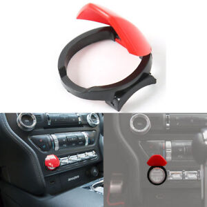 Engine Start Stop Ignition Push Button Cover Switch For 2015 2019 Ford Mustang