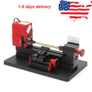 6in1 Multi function Lathe Drilling Machine Wood Metal Diy Tool Milling Usa Ship
