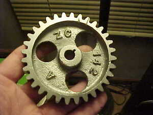 Nice 6 Hp Fairbanks Morse Hit Miss Gas Engine Magneto Drive Gear Zc142a 32 Tth