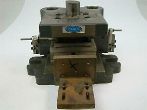 Danly Punch Press Die Set Shoe 2 Back Post