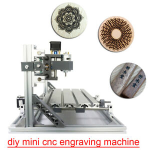 Standard Desktop Diy Digital Mini Cnc Engraving Machine Wood Router Parts