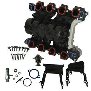 Upper Intake Manifold W Thermostat Gaskets For Ford E 150 E 250 F 150 4 6l V8