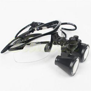 Medical Binocular Loupes 3 5x 420mm Dental Surgical Glasses Dentist Magnifier