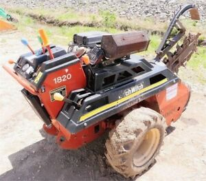 Walk Behind Trencher Ditch Witch 1820
