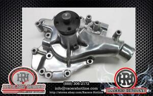 Racers Hotline Bbf Ford 429 460 High Flow Aluminum Water Pump Polished 8876