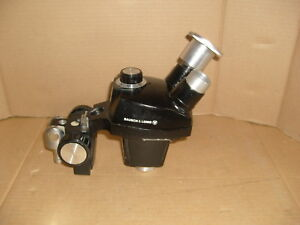 Bausch Lomb 0 7x 3x Stereo Microscope Boom Head Canon Lens Mount Converter P