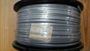 Rj12 Wire 6 Conductor Cable Silver Satin 1000ft New Spool