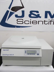 Eppendorf 5810r Refrigerated Benchtop Centrifuge With A 4 62 Rotor