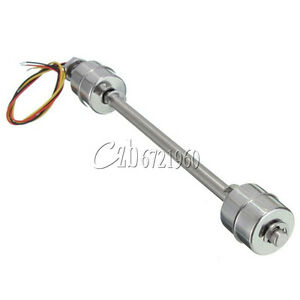 Liquid Float Switch Water Level Sensor Stainless Steel Double Ball 200mm