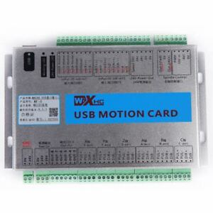 Mach3 4axis Breakout Board Cnc Usb Motion Control Card 2mhz Mk4 v Upgrade Us