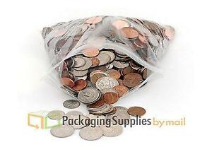 20000 Resealable Clear Plastic Seal Zip Lock Bags Poly Bag Reclosable 2 5 X 3
