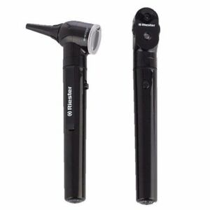 Riester 2131 203 E scope Fo Otoscope Ophthalmoscope Set Led 3 7v Black In Case
