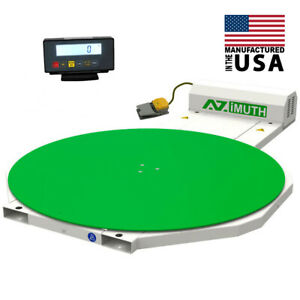New Scale Pallet Wrapper stretch Wrapper Turntable 59 Machine Shrink Wrapper