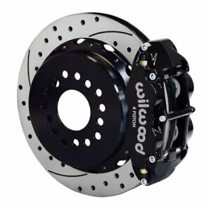 Wilwood 140 10012 D Forged Narrow Superlite 4r Rear Big Parking Brake Kit 14