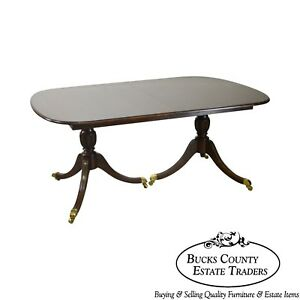 Harden 132 Solid Cherry Duncan Phyfe Expandable Dining Table