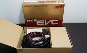 Hks Evc Ez Electronic Valve Controller Turbo Boost Control Meter Gauge New Jdm