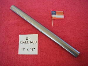 1 X 12 Drill Rod 0 1 Tool Steel Precision Ground 1 000 Machinist