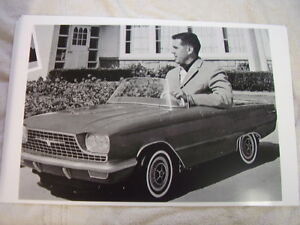 1965 0r 1966 Ford Thunderbird Toy Car 11 X 17 Photo Picture 2