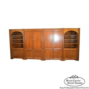 Sligh 178 Traditional Cherry Modular Office Wall Unit Bookcase