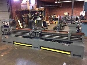 Jet Model 24120 24 X 120 Geared Head Engine Lathe