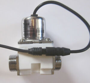 1 2 Inch Latching Pulse Solenoid Valve Npsm Water 6 Vdc Low Power Usa Ship