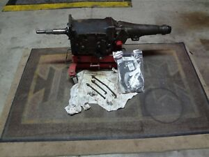 1966 B Body Mopar A833 Hemi 4 Speed Transmission 18 Spline 2 65 Gear Set Update