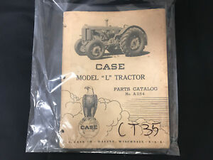 Very Rare Case Model l Tractor Parts Catalog No A254 International Ct35