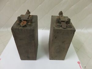 Ford Model T Ignition Coils Pair Battery Starter Wood Buzz Box