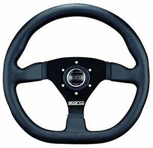 New Sparco 015trgl1luv Steering Wheel 330mm Leather