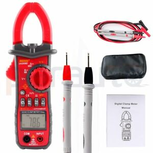 Ua2008d Digital Clamp Meter Multimeter 600a Ac Dc Current Volt Capacitance