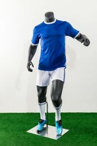 Male Fiberglass Headless Athletic Style Mannequin Dress Form Display mz tq2