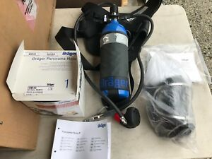 Draeger Pas Colt Escape Scba W Mask And Long Hose 10 Min Drager Nos
