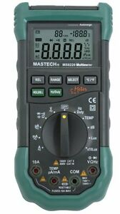 Sinometer Ms8229 Auto Range Lux Sound Humidity Thermometer Multimeter