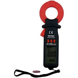 B m Bm2060 Digital Auto ranging Ac 60 Amp Pocket Leakage Current Meter