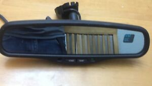 Preowned Gentex Automatic Dimming Rearview Mirror Comp Temp With Gm Mount