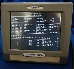Medtronic Xomed Nim response 2 0 Touchscreen Monitor Reference 8252001