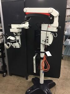 Leica M501 M 500 M500 Dual Head Microscope Xy Camera Surgical Operating
