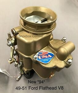 1949 53 Ford Flathead V8 94 Carburetor New