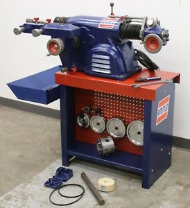 Ammco 4000 Disc Drum Brake Lathe Loaded W 3 jaw Double Chuck Adapter Kit