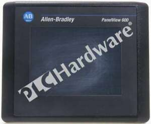 Allen Bradley 2711 t6c16l1 Series B Panelview 600 Color Scratches On Screen