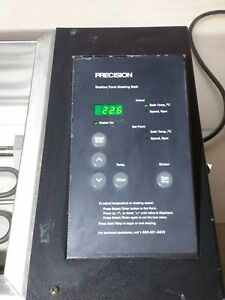 Precision 51220079 Shallow Form Reciprocal Shaking Water Bath tested