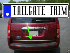 Chrysler Town country 2008 2009 2010 2016 Chrome Tailgate Trunk Trim Molding
