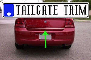 Dodge Charger 2006 07 08 2009 2010 2011 2017 Chrome Tailgate Trunk Trim Molding